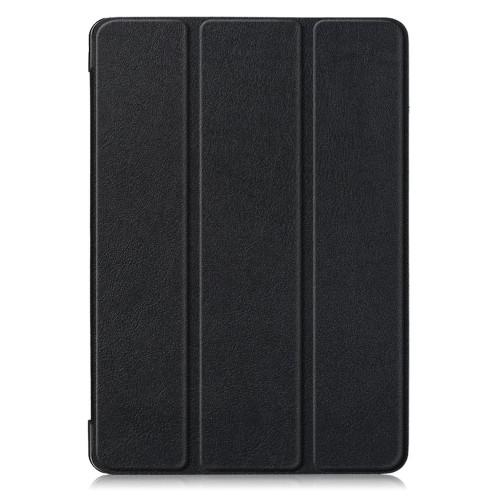Кожен, черен калъф - стойка за iPad (7th/8th Gen)