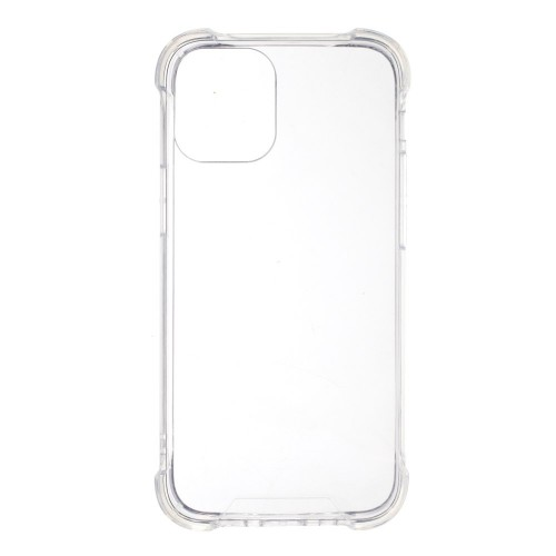 Силиконов, прозрачен калъф - тънък, удароустойчив за iPhone 12 Pro Max