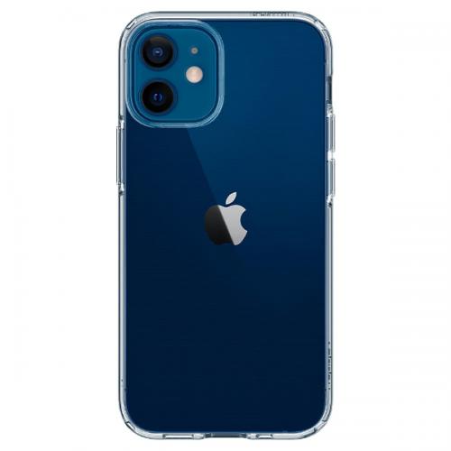 Силиконов, прозрачен калъф - тънък за iPhone 12 mini