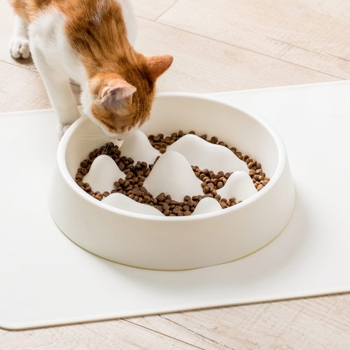Пластмасова купа за бавно хранене на кучета/котки