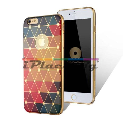 Пластмасов, жълт панел - фигури за iPhone 6/6S