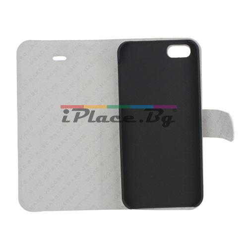 Кожен калъф - очила за iPhone 5/5S/SE