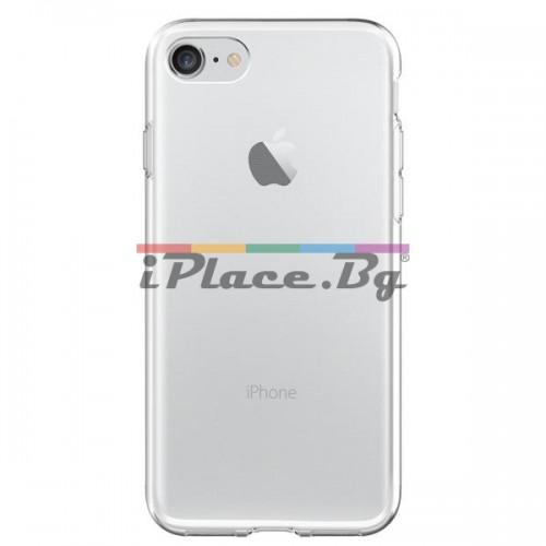 Силиконов, прозрачен калъф - ултра тънък за iPhone 7/iPhone 8