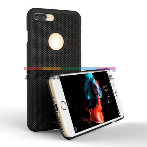 Пластмасов, черен панел - перфориран за iPhone 7 Plus/iPhone 8 Plus