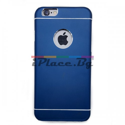 Алуминиев, син панел - ултра тънък за iPhone 6/6S