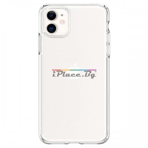 Силиконов, прозрачен калъф - тънък за iPhone 11