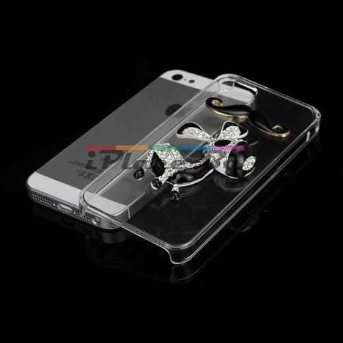 Пластмасов, прозрачен панел - магаренце за iPhone 5/5S/SE