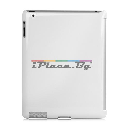 Пластмасов, бял панел за iPad 2, 3, 4