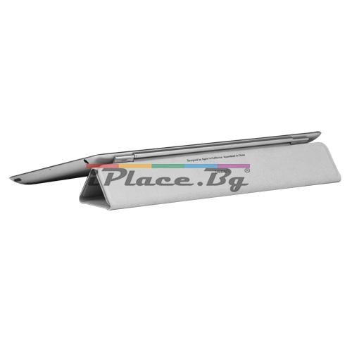 Пластмасов, лилав панел - стойка за iPad 2, 3, 4