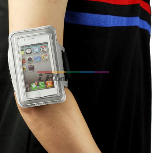 Силиконов, розов калъф за спорт за iPhone 4/4S