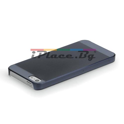 Пластмасов, сив панел - ултра тънък за iPhone 5/5S/SE