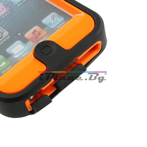 Пластмасов, оранжев, удароустойчив панел за iPhone 5/5S/SE