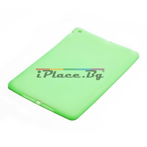 Силиконов, зелен калъф за iPad Air